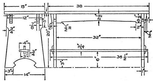 Foyer Bench Popular Mechanics : Facrac popular mechanics workbench plans