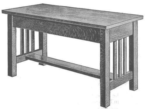 Foyer Bench Popular Mechanics : A piano bench