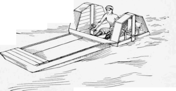 How To Build A Paddle - Wheel Boat