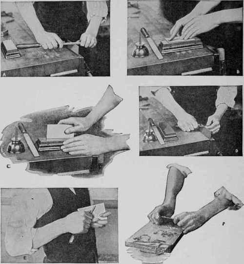 Sharpening A Cabinet Scraper