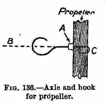 straightening brass boat propeller