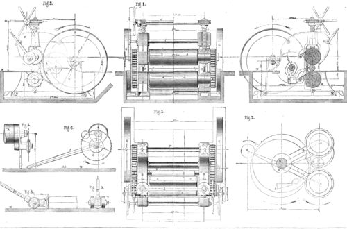 Chuwab S Rolling Mill For Dressing And Rounding Bar Iron