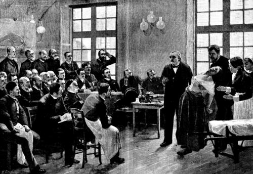A Clinical Lesson at the Salpêtrière