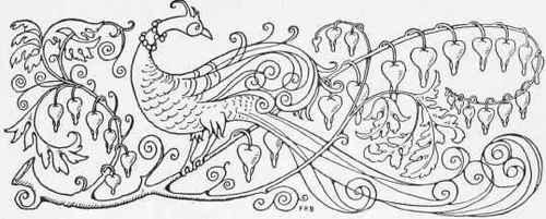 Russian Bird The Fire Bird a Russian Fairy