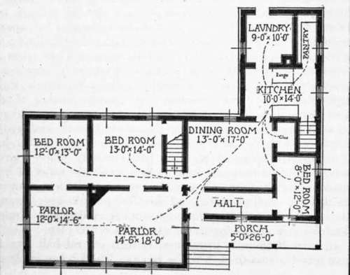 Old Home House Plans