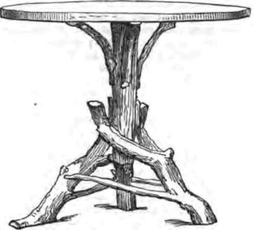 Rustic Furniture. - First Article on