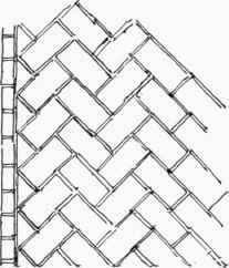 """12"""" Travertine Mosaic Tumbled Herringbone Pattern (N1C117T2"""