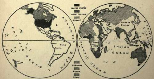 World Map 20th Century