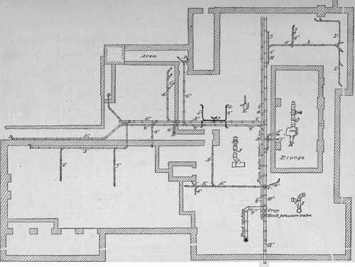 Part Ii Gentlemen 39 S Toilet Room Plan Elevation Section And Diagram Of Urinals And Closets