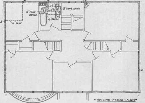Usual type of plumbing plan for Plumbing plans examples