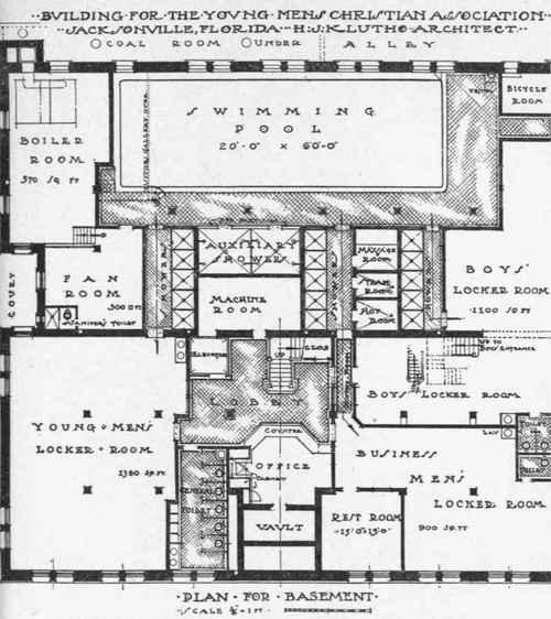 Planning The Plumbing In Y. M. C. A. Buildings