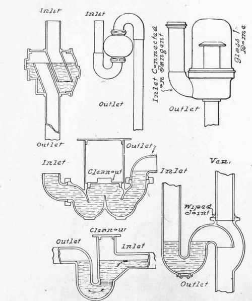 Various Patented Forms Of Traps
