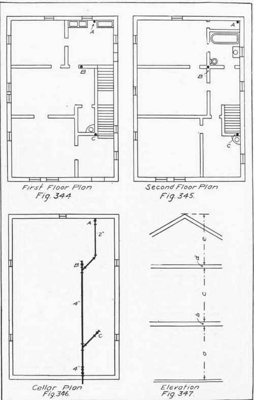Drawing For The Plumber Continued – House Floor Plans To Scale