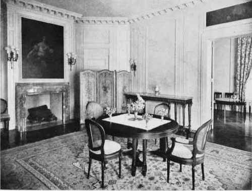 A DINING ROOM IN LOUIS XVI STYLE