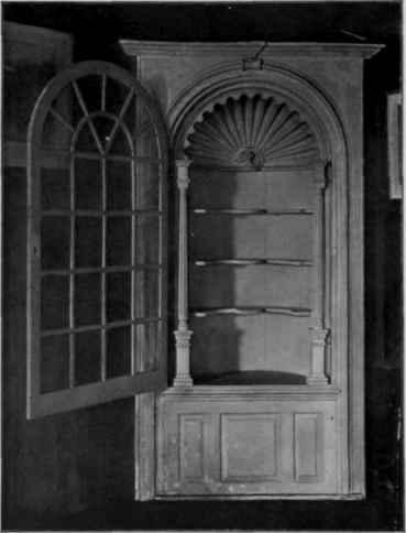 Corner Cupboard, 1725 50.