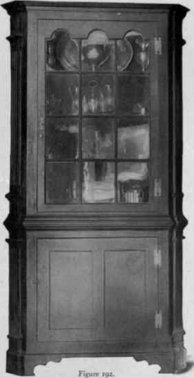 Corner Cupboard, 1750 75.