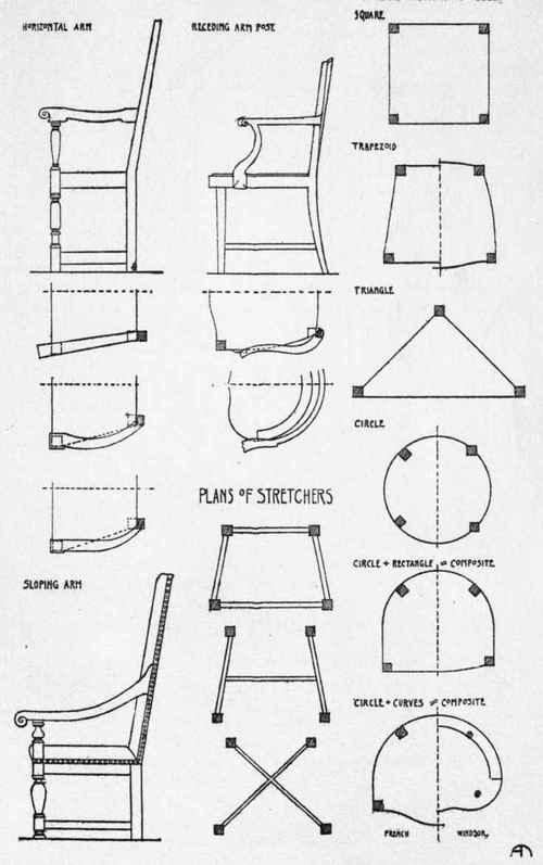 chair frame plans