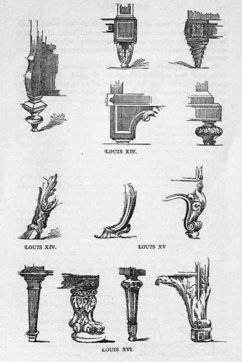 Addendum The Louis Furniture Styles 61