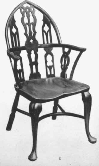I Windsor Chair, Yew, Gothic Style ...