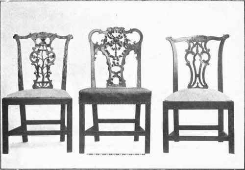 chippendale chairs second period