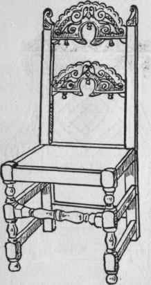 a. Jacobean Oak Yorkshire Chair, c. 1650.
