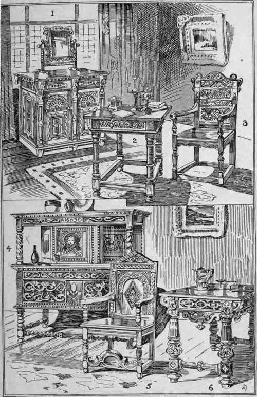 Elizabethan+furniture