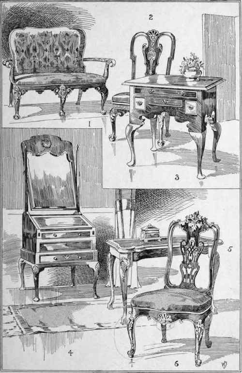 Queen Anne. V. Plate 26