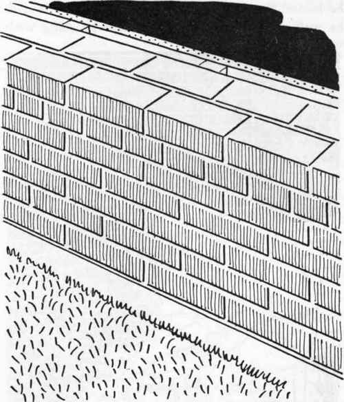 Standard Exterior Wall Thickness : Repairs to the exterior walls continued