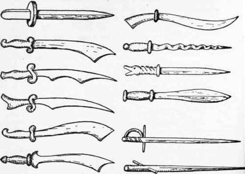 Cool Knives and Swords
