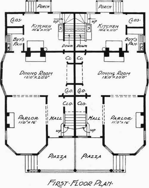 abeeku house plan 1497 bungalow house plan with 1100 square feet - House Building Plans