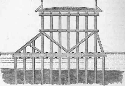 Wooden Bridge Construction Methods