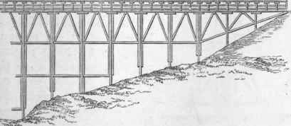 Wood Bridge Construction
