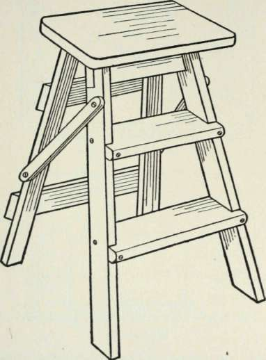 Step Ladder Kitchen Poggenpohl Accessories Fold Away