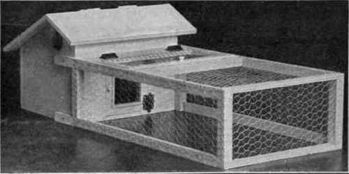 Chapter Plans for chicken brooder ~ Build for a hen