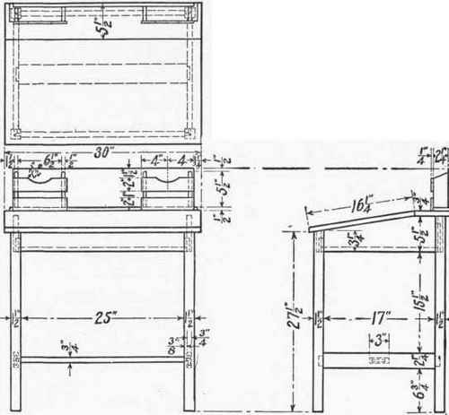 Writing Desk Plans Designs