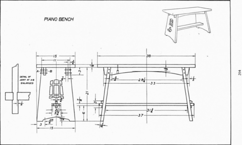 Piano Bench Dimension Plate 17 Piano Bench