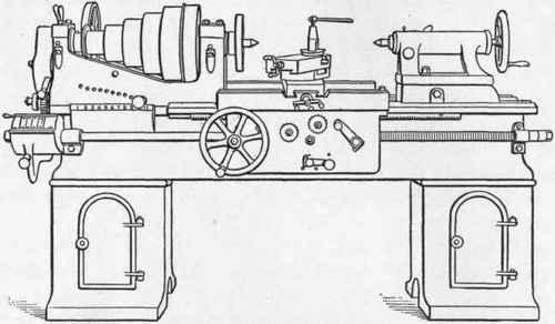 metal lathe parts diagram sketch coloring page