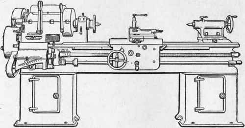 Variable Speed Lathe suits wood turning applications.
