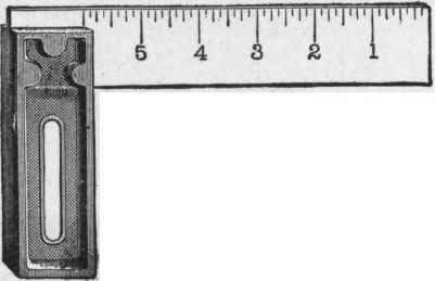 Iron Handle Try Square 14