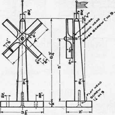 "38"" Dutch Windmill Plans, Woodworking Plans and Patterns by"