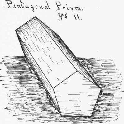 Model No 11 Pentagonal Prism
