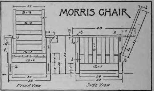 How To Make A Morris Chair 160