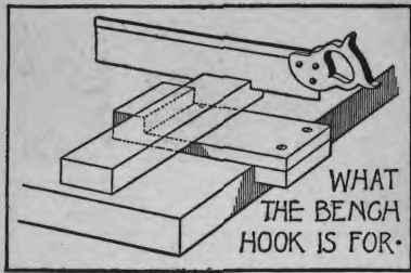 woodwork bench hook