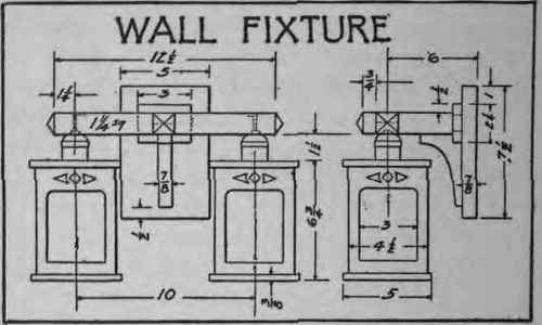 How To Make A Wall Fixture