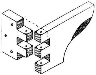 Finger joint hinge for Finger joint wood doors