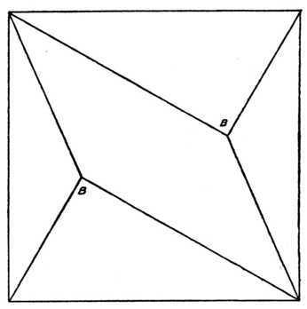 5 Piece Square Puzzle