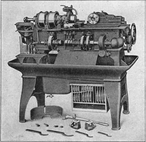 Brown and sharpe automatic screw machine