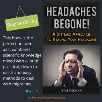 Headaches Begone! A Systemic Approach To Healing Your Headaches Book