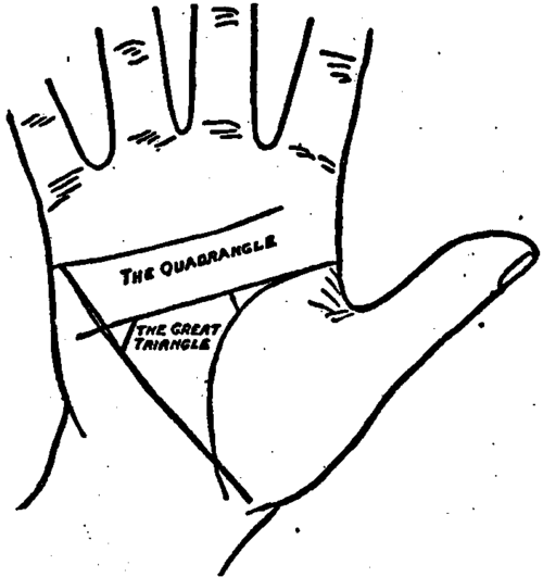 The Great Triangle Palmistry