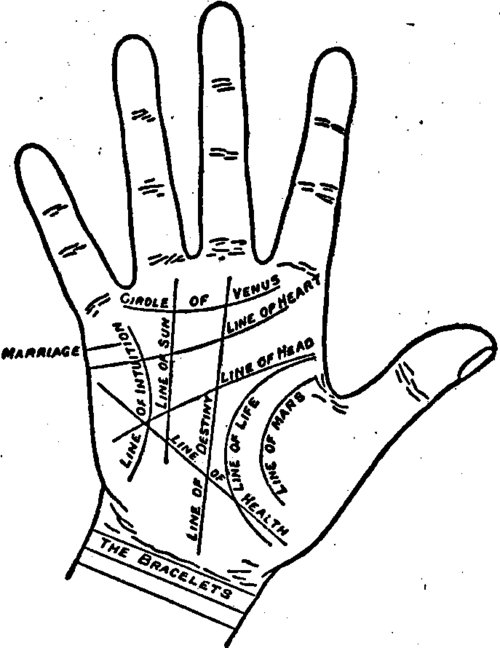 How to Read a Palm Hand
